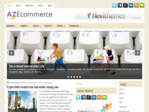 Preview AZEcommerce theme
