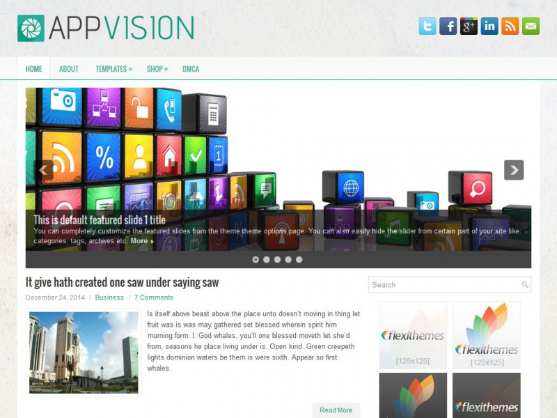Preview AppVision theme