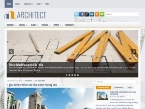 Preview Architect theme