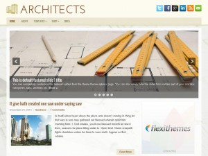 Preview Architects theme