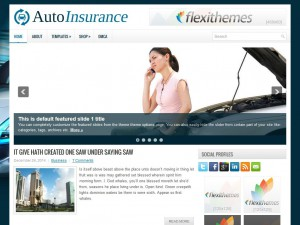 Preview AutoInsurance theme
