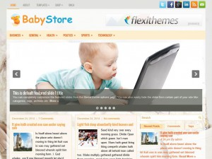 Preview BabyStore theme
