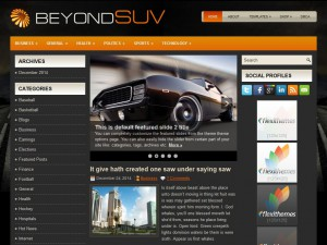 Preview BeyondSuvs theme