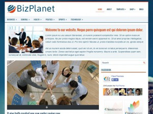 Preview BizPlanet theme