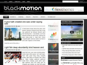 Preview BlackMotion theme