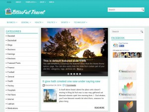 Preview BlissfulTravel theme