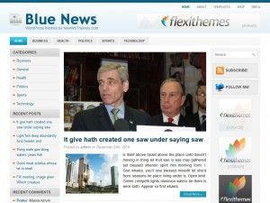 Preview BlueNews theme