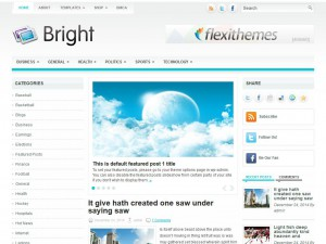 Preview Bright theme