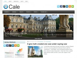 Preview Cale theme