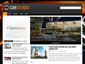 Preview CarStudio theme