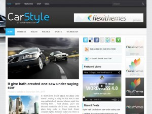 Preview CarStyle theme