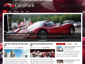 Preview CarsPark theme