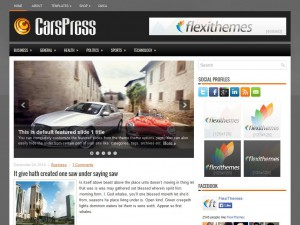 Preview CarsPress theme