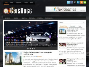 Preview CarsRace theme