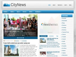 Preview CityNews theme