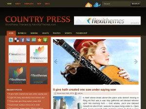 Preview CountryPress theme