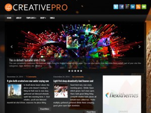 Preview CreativePro theme