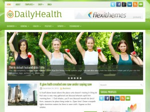 Preview DailyHealth theme