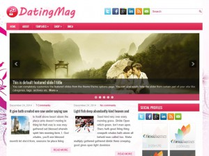 Preview DatingMag theme