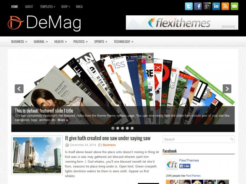 Preview DeMag theme