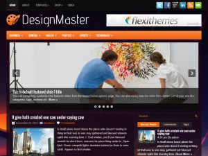 Preview DesignMaster theme