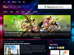 Preview DesignPress theme