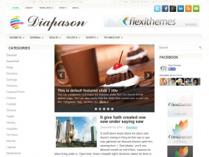 Preview Diapason theme