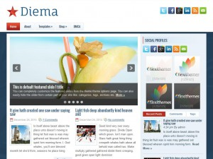 Preview Diema theme