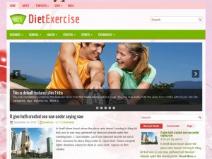 Preview DietExercise theme