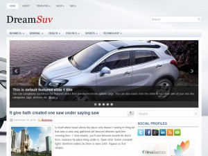 Preview DreamSuv theme