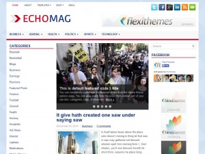Preview EchoMag theme