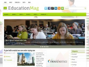 Preview EducationMag theme