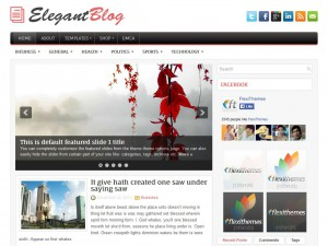 Preview ElegantBlog theme