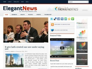 Preview ElegantNews theme
