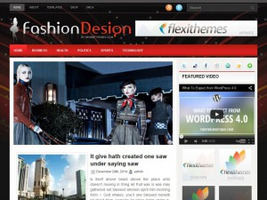 Preview FashionDesign theme