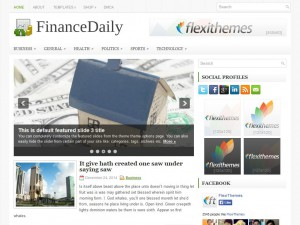 Preview FinanceDaily theme