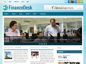 Preview FinanceDesk theme