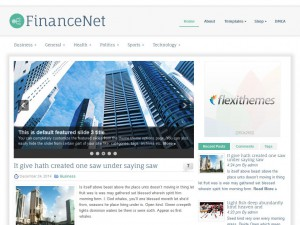 Preview FinanceNet theme