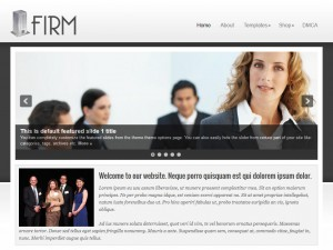 Preview Firm theme