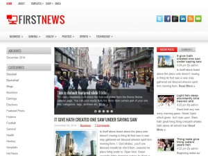 Preview FirstNews theme