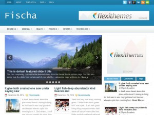 Preview Fischa theme