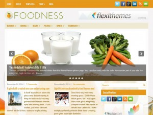 Preview Foodness theme