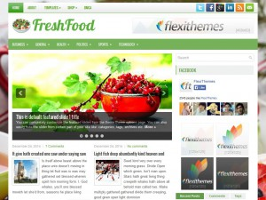 Preview FreshFood theme