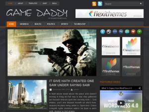 Preview GameDaddy theme