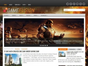 Preview GameFusion theme