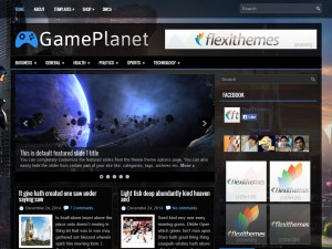Preview GamePlanet theme