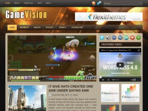 Preview GameVision theme