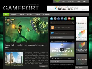 Preview Gameport theme