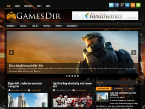 Preview GamesDir theme