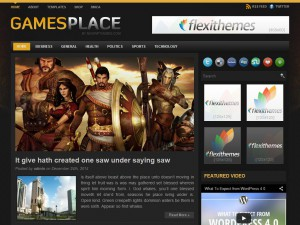 Preview GamesPlace theme